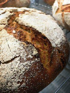 Finnish 100%  rye bread  70% light Rye 30%dark