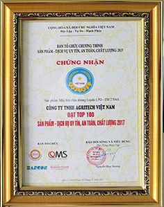 LOPDA: TOP 100 thương hiệu ưy tín an toàn chất lượng.