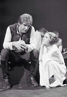 "Harrison Ford & Carey Fisher (Han Solo & Han Solo) ""Star Wars"""
