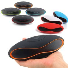 Mini Portable Rugby Wireless Bluetooth Speaker For iPhone iPod Samsung iPad New #Fancyqube