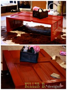 More Reclaimed Door Coffee Tables » Killer b. Designs | Killer b. Designs