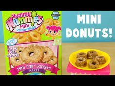 Yummy Nummies Mini Fair Donuts Maker DIY Make Your Own Tiny Donuts! - YouTube