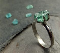 Raw Rough Gemstone Jewelry as individual as YOU are by byAngeline Jewelry Art, Jewelry Rings, Silver Jewelry, Jewelry Accessories, Jewelry Design, Jewlery, Fashion Accessories, Bling Bling, Raw Stone Jewelry
