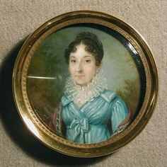 Charles Pierre Cior, Portrait of Mme Droi, ca.1800