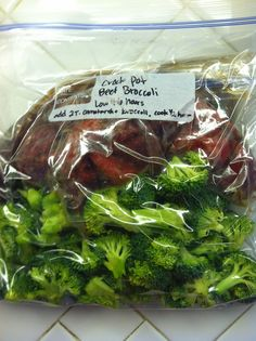 Keeping freezer meals for the crock pot on hand is a great way to plan ahead to make meal prep easier. This quick sauce is a copycat recipe for Chinese Beef and Broccoli. Marinate your meat for cooking in the … Continue reading →