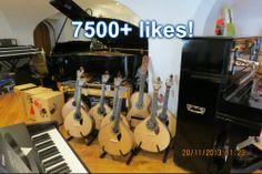 Já passámos os 7500 likes na nossa página do Facebook! Obrigado! Continuem a pedir aos vossos amigos que gostem da nossa página, especialmente a quem saibam estar ligado à música!