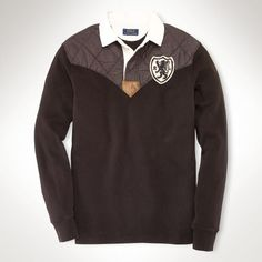Custom-Fit Vintage-Patch Rugby - Rugbys   Polo Shirts - RalphLauren.com