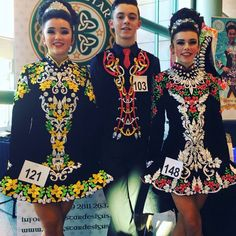 **Rising Star Designs**Irish Dance Solo Dress Costume**