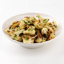 Roasted Cauliflower with Parmesan Cheese - 1 point