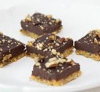 Raw Superfood Chocolate Shortbread - gf exc oats, vegan, agave+maple