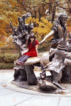 ❤ Central Park   http://www.rosaspinavintage.com/2012/12/central-park.html