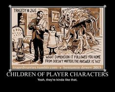 Children of Player Characters