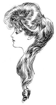 """The Eternal Question is a drawing done by Charles Dana Gibson in 1905, fully titled """"Women: The Eternal Question."""""""
