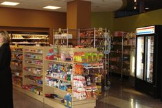 The Convenience Store provides students with the best selection of groceries from staples to gourmet at competitive prices.  We sell fresh produce, frozen entrées, juices, natural snacks, canned goods, soft drinks, coffees, cookies, crackers, condiments, cleaning supplies, health and beauty aids.  Additionally, we have freshly prepared deli sandwiches, salads, desserts, and home-style meals created by our chefs.