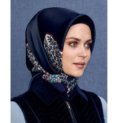 Armine Silk Hijab Scarf Fall 2015 - Winter 2016 #8986 – Modefa USA