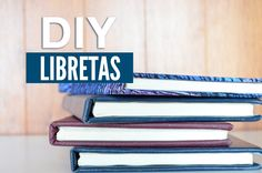 DIY - Haz Tus Propias Libretas | Yess