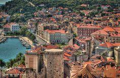 Split ( 1 ) - Ciudad turistica en Croacia. Split Croatia, Hdr, Country, Color, Croatia, Places, Rural Area, Colour, Country Music