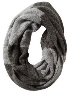 Infinity scarves... I envision a quilted/topstitched oversized fleece version to make that can serve as a hood or a scarf or whatever...