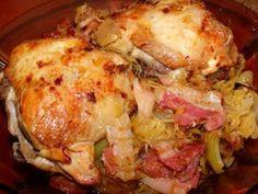 Káposztás csirke