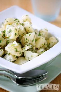 No Mayo Italian Potato Salad #recipe from DeLallo Foods