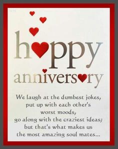 Happy 1 year dating anniversary poems