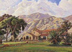 Paisaje del Country Club, 1946 Manuel Cabré