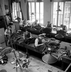 Tailor Shop  circa 1944
