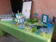 monsters inc ,cake, cakepops, candy bar