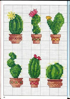 Thrilling Designing Your Own Cross Stitch Embroidery Patterns Ideas. Exhilarating Designing Your Own Cross Stitch Embroidery Patterns Ideas. Cactus Cross Stitch, Mini Cross Stitch, Cross Stitch Needles, Modern Cross Stitch, Cross Stitch Flowers, Cross Stitch Charts, Cross Stitch Designs, Cross Stitch Patterns, Cross Stitch Pillow