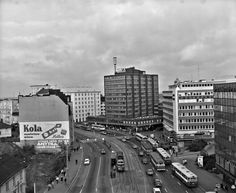 Hakutulokset - helsinginkatu - Finna - Helsingin kaupunginmuseo History Of Finland, Map Pictures, Helsinki, New York Skyline, Times Square, Nostalgia, The Past, Black And White, World