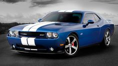My favorite car, Dodge Challenger with an awesome paint job