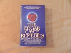 The Edgar Cayce Remedies Paperback Book 1998 Health