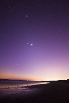 See the stars ignite in the sky. This is something I want to experience once in my lifetime.