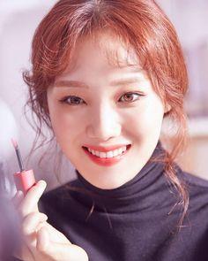 Lee Sung Kyung Makeup, Ahn Hyo Seop, Korea Makeup, Weightlifting Fairy Kim Bok Joo, Joo Hyuk, Laneige, Lip Tint, Korean Actresses, Korean Actors