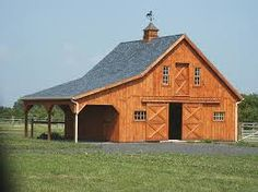Pictures of pole barn homes 28 39 x38 39 bank barn attached for Bank barn plans