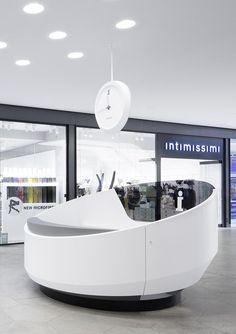 Das GERBER Stuttgart - Shopping mall Interior design: Ippolito Fleitz Group; www.ifgroup.org: