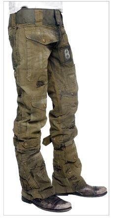 Junker pants, embellish the islands untamed side.