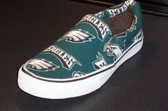 File under: ridiculous Eagles shoes I don't yet own.