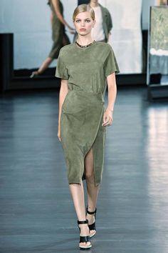 платье Jason Wu, Весна-лето 2015, Ready-To-Wear, Нью-Йорк
