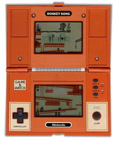 Nintendo Game & Watch - Donkey Kong My first double screen game ! My Childhood Memories, Childhood Toys, Sweet Memories, Vintage Games, Vintage Toys, Peter Et Sloane, Toy History, Donkey Kong Games, Master System