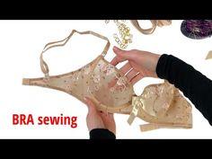 Bra making! How I sew lace bra - YouTube