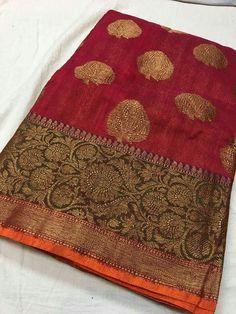 Banaras semi dupoin sarees Order what's app 7995736811 Classic Indian Saris CLICK VISIT link for more details