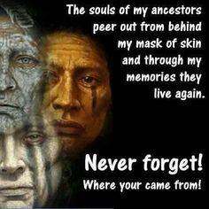 Souls of my ancestors