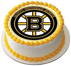 Boston Bruins Edible Cake Topper