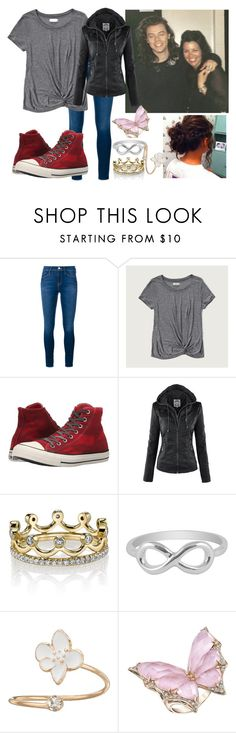 """With Harry and Mom"" by normal-girl-jazz ❤ liked on Polyvore featuring Frame Denim, Abercrombie & Fitch, Converse, Erica Courtney, Jewel Exclusive, LC Lauren Conrad and Stephen Webster"