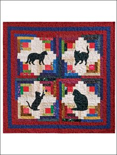 Quilting - Cabin Cats - #EQ00303