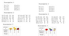 Imagini pentru fise lucru matematica clasa 1 adunari si scaderi 0-10 cu necunoscuta Math Addition Worksheets, Kids Math Worksheets, Alphabet Worksheets, Math Numbers, Preschool Math, Math For Kids, After School, Kids Education, Google