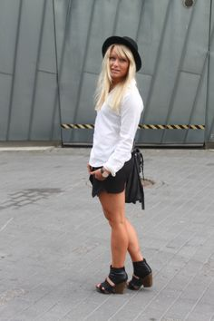 Black & White - Kengät Vagabond!!