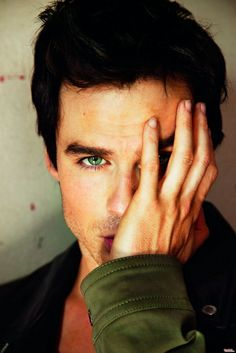 Ian Somerhalder - those eyes are so enchanting.