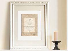 Christian art print Psalms 113 5x7 by LilStinkerDesign, $14.00
